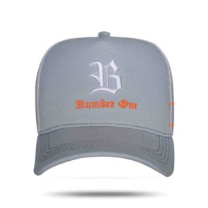 Boné Blck Snapback Number One Grey
