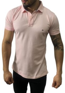 Camisa Polo Tommy Hilfiger Rosa