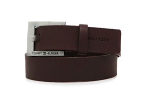 Cinto Tommy Hilfiger Couro Marrom