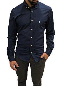 Camisa Ralph Lauren Azul Marinho