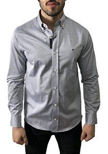 Camisa Tommy Hilfiger Cinza
