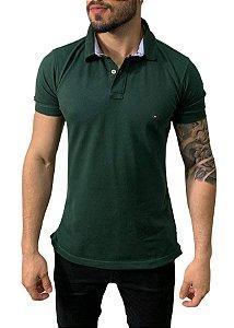 Camisa Polo Tommy Hilfiger Verde Militar