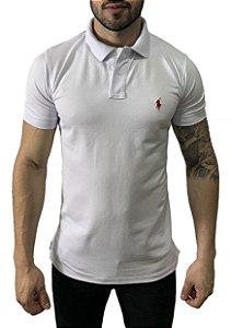 Camisa Polo Ralph Lauren Branca
