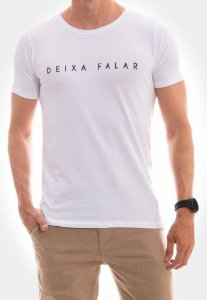 Camiseta Red Feather Deixa Falar