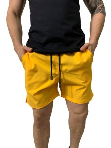 Shorts Red Feather Mescla Amarelo