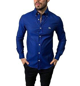 Camisa Lacoste Azul Marinho