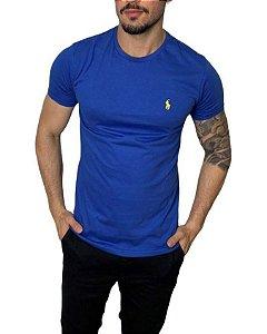 Camiseta Ralph Lauren Básica Azul Índigo