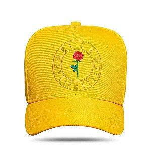 Boné Blck Snapback My Life Style Yellow