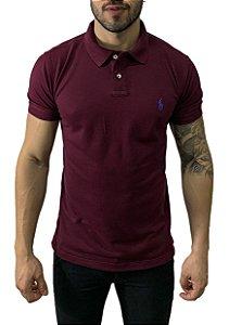 Camisa Polo Ralph Lauren Marsala