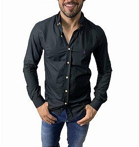 Camisa Ralph Lauren Lisa Preta