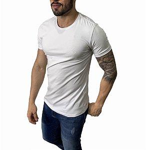 Camiseta Armani Exchange Logo Branca