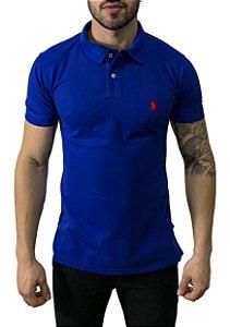 Camisa Polo Ralph Lauren Azul Safira