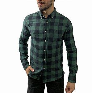 Camisa Ralph Lauren Xadrez Black Militar