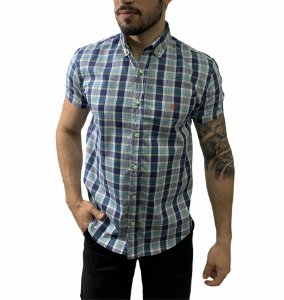 Camisa Ralph Lauren Xadrez Multi Azul