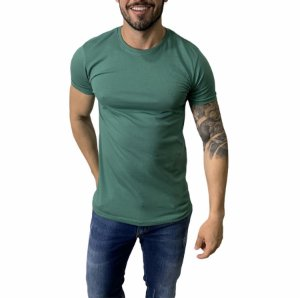 Camiseta Armani Exchange Logo Verde