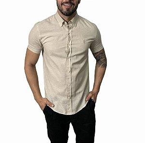 Camisa Ralph Lauren Linho Khaki