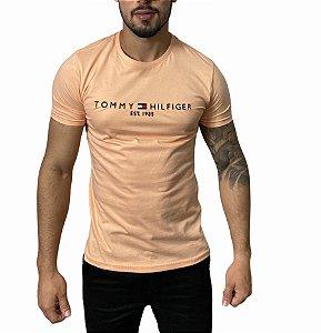Camiseta Tommy Hilfiger 1985 Coral