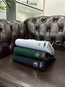 Kit com 3 Camisas Polo Ralph Lauren