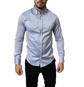 Camisa Ralph Lauren Lisa Azul