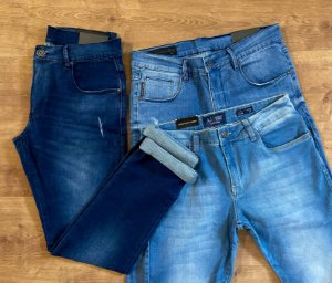 Kit com 3 Calças Jeans n°42 - A|X