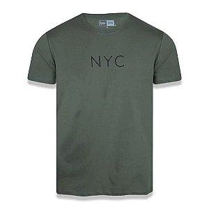 Camiseta New Era Botany NYC Militar