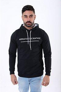 Moletom Armani Exchange Preta