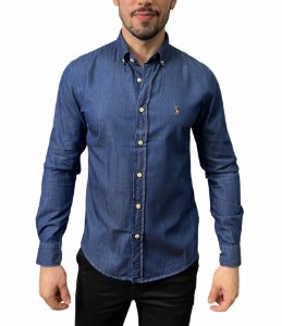 Camisa Ralph Lauren Jeans Denim