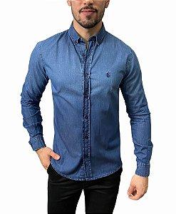 Camisa Ralph Lauren Jeans Azul