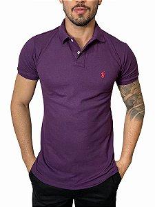 Camisa Polo Ralph Lauren Roxa