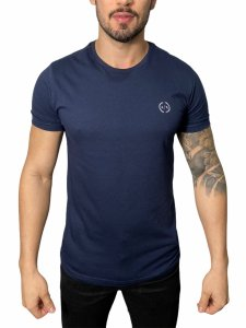 Camiseta Armani Exchange Logo Azul Marinho
