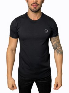 Camiseta Armani Exchange Logo Preta