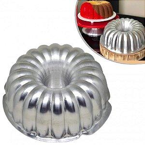 Forma de bolo Suiço - alumínio