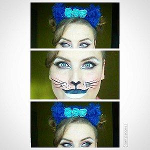 Carapuça de Gato - ótima fantasia de Halloween