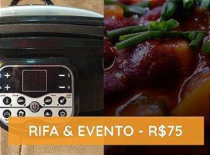 Feijoada Vegana Beneficente & Rifa Panela Elétrica