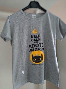Camiseta Keep Calm - Estampa nova! Feminina