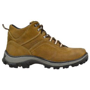 f6716a1b9 Coturno Adventure Atron Shoes Trilha Couro - Calzaph, Calçados ...