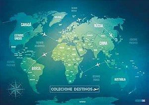 Mapa Mundi  Green Life