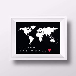 Pôster I love the World