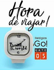 Relógio Go! - Travel The World