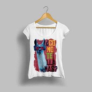 Camisa Feminina Como Te llamas