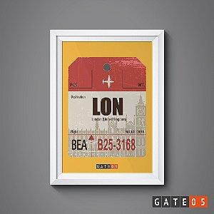 Pôster Tickets Worldwide - London, United Kingdon