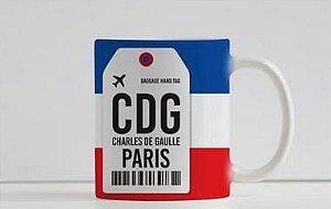 Caneca Aeroporto CDG, Charles de Gaulle  - Paris, França