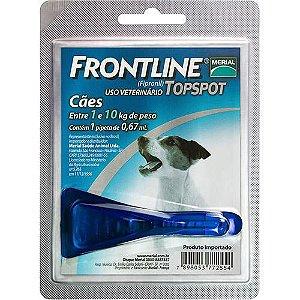 Frontline Topspot até 10kg Anti Pulgas e Carrapatos
