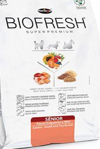 Ração Biofresh Senior Raças Pequenas e Mini 12 kg