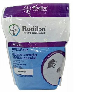 Rodilon Bloco Extrusado Raticida Bayer  Pc 1kg