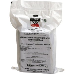 Klerat Blocos Raticida Pc 1 Kg