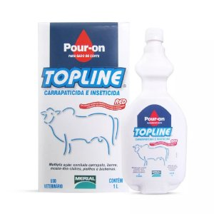 Topline Red Pour-on (fipronil) 1 Litro