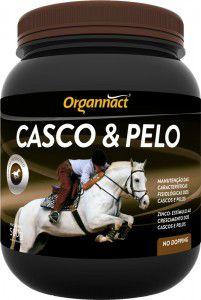 Casco & Pelo Organnact 500 gr - Suplemento para Cascos e Pelos de Equinos
