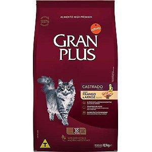 Ração Gran Plus Para Gatos - Saca de 10 Kg