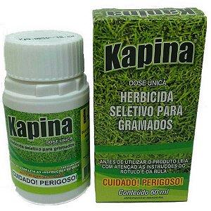 Herbicida Seletivo Para Gramados Kapina - 60ml